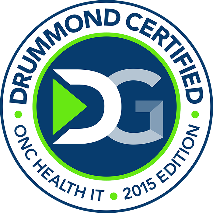Praxis EMR - Drummond Certificate of Health IT Compliance