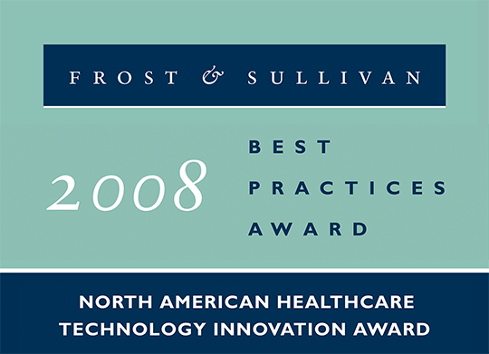 2008 North American Healthcare Technology Innovation Award