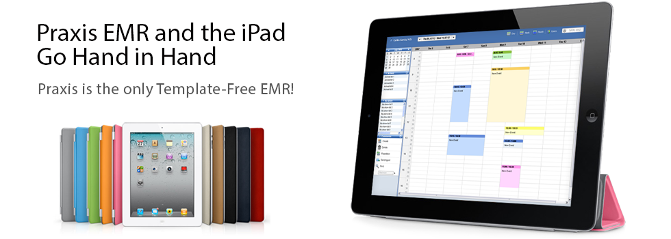 Praxis EMR and the Ipad go Hand in Hand