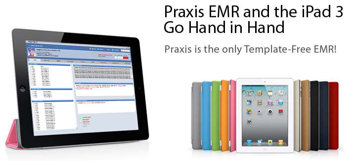 Get a Free iPad 3 | Electronic Medical Records Software | EMR