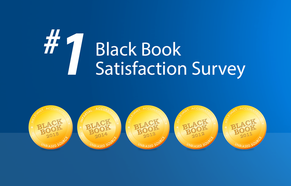 Praxis EMR wins #1 Award at BlackBook 2014/2015